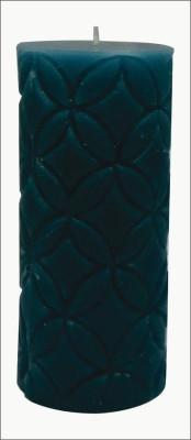GGI Designer Pillar Candle Blue 2.75 x 4.00 Candle