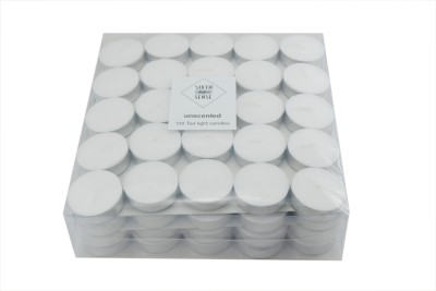 Sixthsense Tealight Unscented Candle