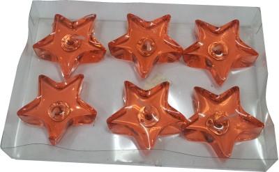 Sneharsh Orange Star Candle