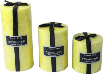 Brown Village Aromatic Lemon Candle