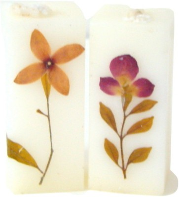 Store Utsav Aromatic Floral Pillar Candles Candle