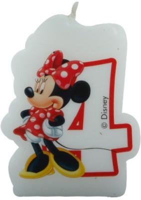 Disney Minnie Café-Birthday Numeral No4 Candle