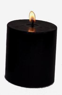 Indigo Creatives Designer Black Candle