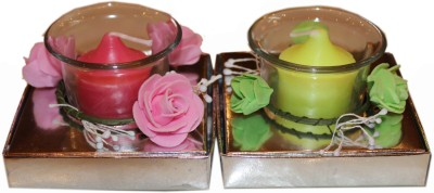 Fragrance Concoction Pack of gardenia and strawberry fragrance votive Candle
