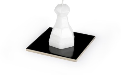 Manulena Chess Pawn White 80g Candle