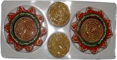 Illume Lamp & Candles Bhanu Deep 2 Diyas Pack Candle