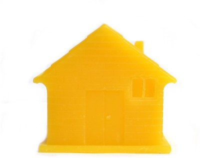 Aurocandles Wax House Yellow Candle