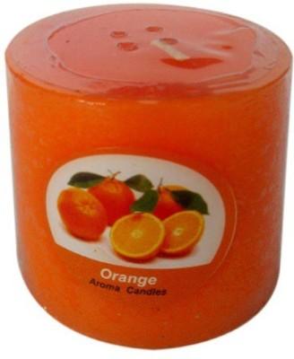 Illume Lamp & Candles Orange 1 Pillar 2.5