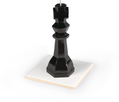 Manulena Chess King 80g Black Candle