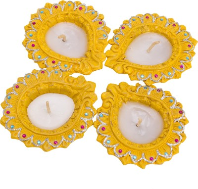 Alok Overseas Sparkled Candle