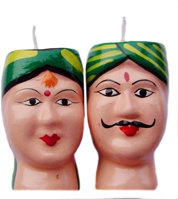 Rastogi Handicrafts Couple-G Candle