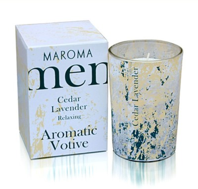 Maroma Men Votive Cedar Candle