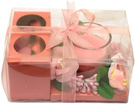 Plan Your Own Party Prettylicious Candle(Pink, Pack of 3)