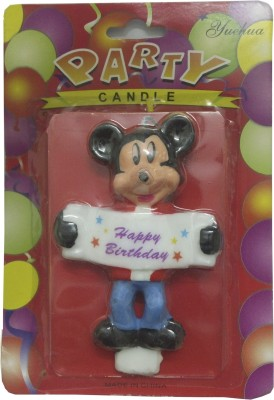 Atpata Funky Happy Birthday Mickey Mouse Candle