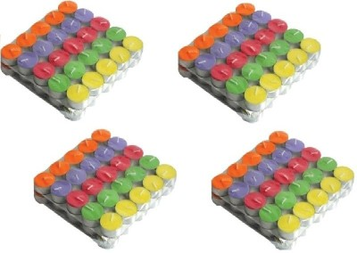 Rasmy Candles Multicolour Tealight Pack Of 200 Candle