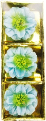 The Candle Shop Light Blue Hybiscus Candle