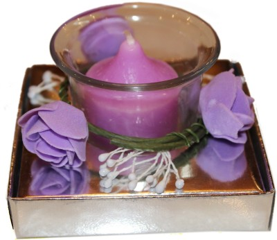 Fragrance Concoction Lavender fragrance votive Candle