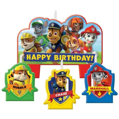Amscan 1 X Paw Patrol Candle Set Candle