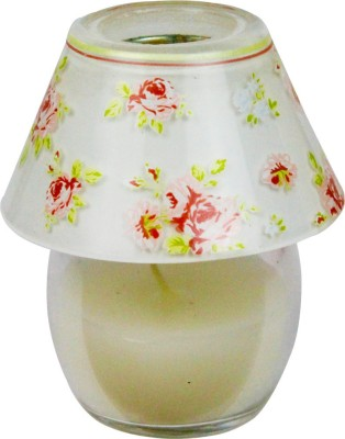 The Candle Shop Floral Lamp Shade Candle
