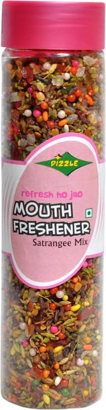 Dizzle Dizzle Satrangi Mix 200 gm Fruit-flavored Mint Mouth Freshener(Pack of 2)