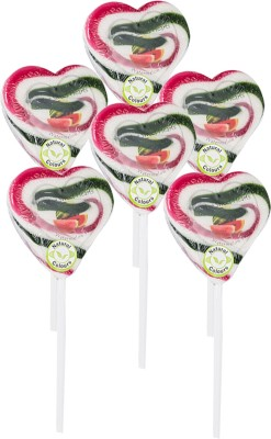 Kandee Sweet Heart-Twist Watermelon Lollipop