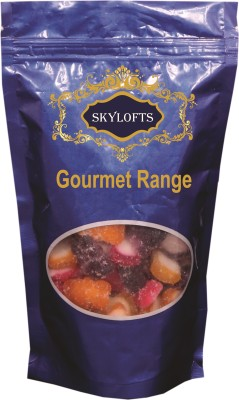 Skylofts Assorted Pack Strawberry, Black Currant, Orange, Lemon Gummy Candy
