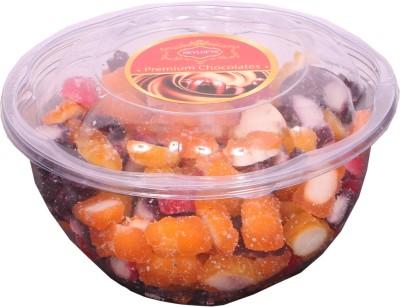 Skylofts Bears & Jujubs Pack Lemon, Strawberry, Black Currant, Orange Gummy Candy