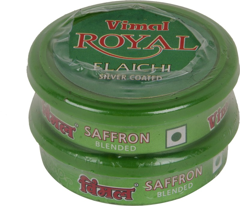 Vimal Royal Elaichi 2 Pocket Pack 10g each Mint Mouth Freshener(Pack of 2)