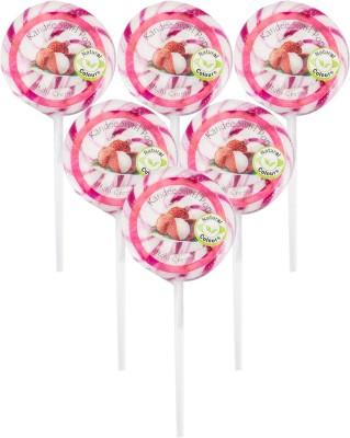 Kandee Swirl-Crème Lychee Lollipop