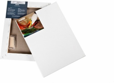 Brustro Mixed Linen Medium Grain Pre Stretched Canvas (Set of 2)