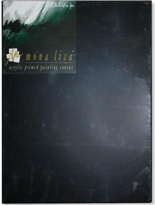 Mona Lisa CB B Polycotton Fine Grain Canvas Board (Set of 3)(Black)