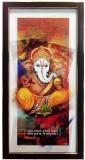 Canvas Champ Artistic Ganesha Canvas pri...