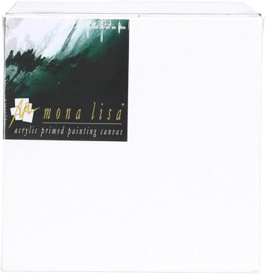 Mona Lisa Fine Art Cotton Fine Grain Pre-Stretched Canvas (Set of 1)(White)
