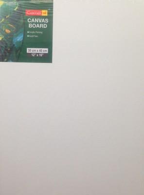 Camlin Canvas Board Acrylic Acid Free Acrylic (Set of 1)(White)