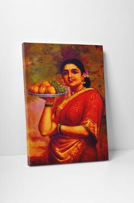 Canvas Champ Maharastrian Lady (Gallery Wrap Canvas Prints) Raja Ravi Varma 24
