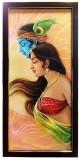 Canvas Champ Auspicious Radha Krishna Ca...