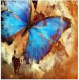 Canvas Champ Chardi Kala 'Buttefly' Art ...