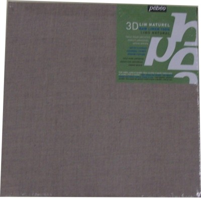 Pebeo Linen Medium Grain Stretched Canvas (Set of 1)