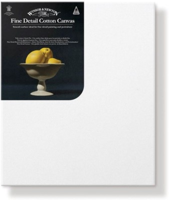 Winsor & Newton Fine Detail Cotton Fine Grain Pre Stretched Canvas (Set of 1)