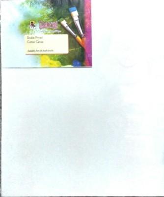 Dayal Canvas Board Cotton Medium Grain Board Canvas (Set of 3)(White)