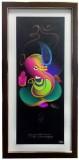 Canvas Champ Colorful Ganesha Ji Print F...