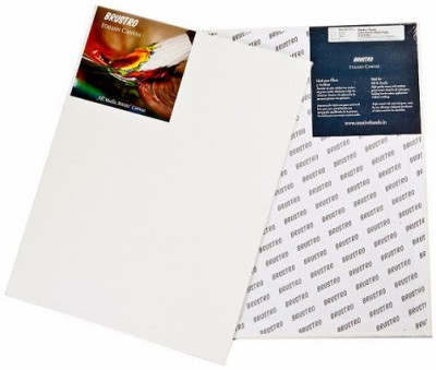 Brustro Cotton Medium Grain Canvas Board (Set of 2)