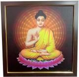 Canvas Champ Gautam Buddhist art Framed ...