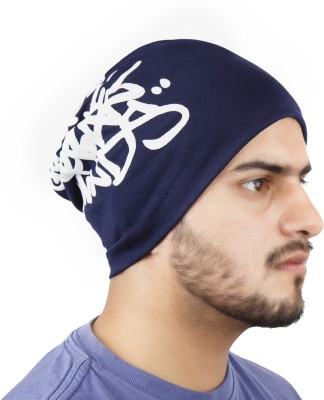 Noise Genuine Urban Minds Beanie-Blue Printed Skull Cap