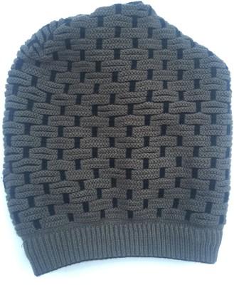 Tiny Seed Self Design Woolen Cap Cap