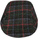 Indian Heritage Checkered Flat Cap