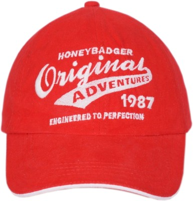 Honeybadger Embroidered COTTON BASEBALL Cap