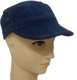 Babji Solid Dark Blue Snapback Cap