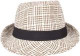 Sushito Solid Fedora Hat Cap