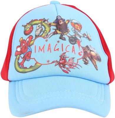 Imagica Printed KIDS CAP CHARACTER CLOUD Cap